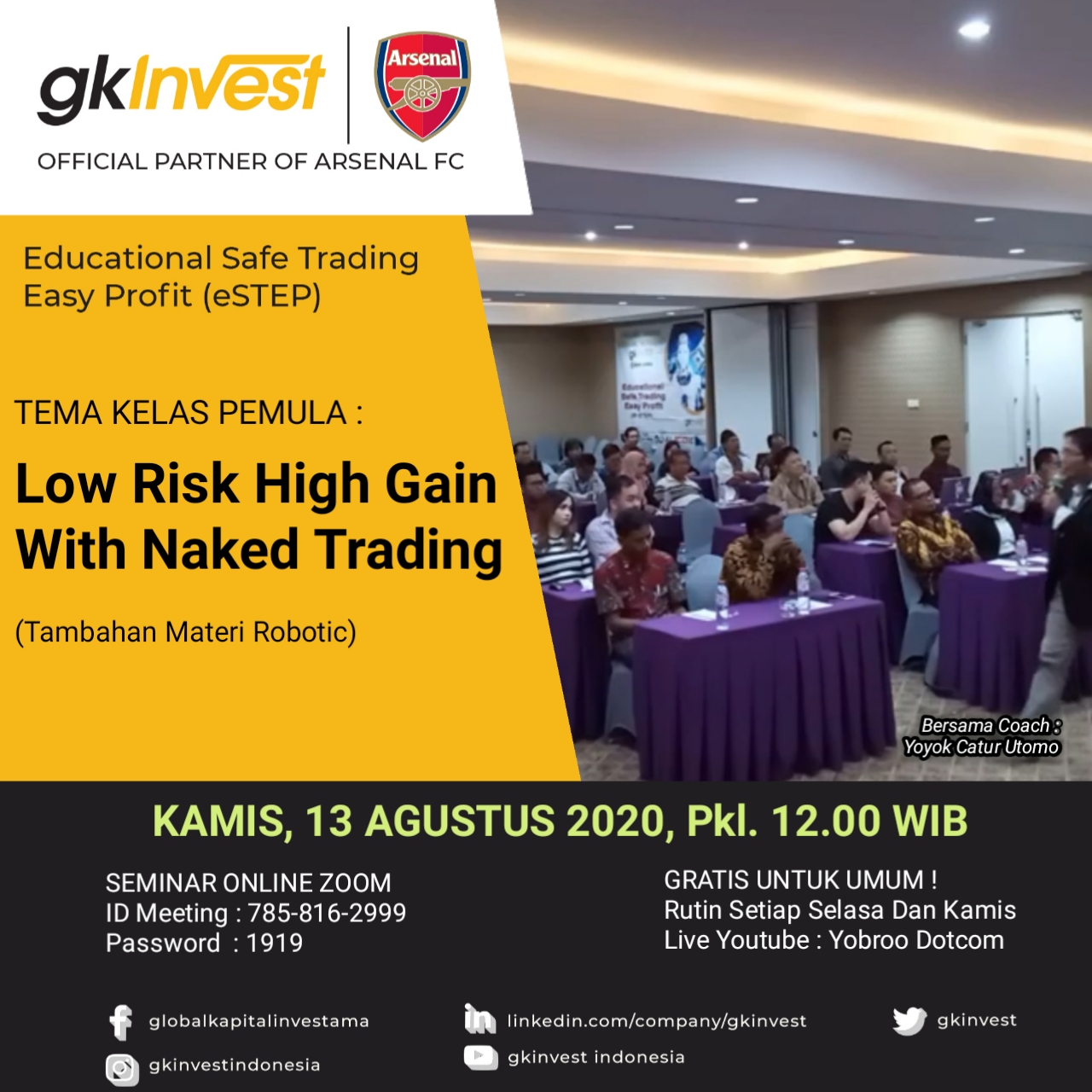 Low Risk High Gain With Naked Trading