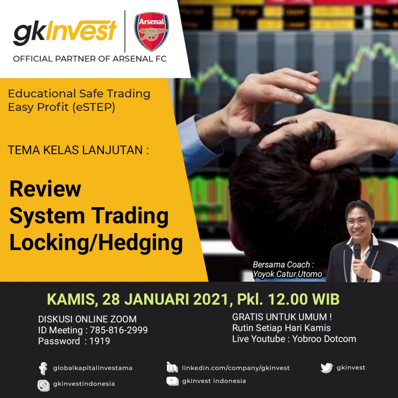 REVIEW SYSTEM TRADING LOCKING/HEDGING